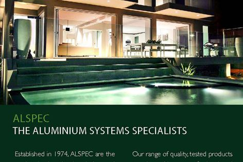 Alspec aluminium framing systems