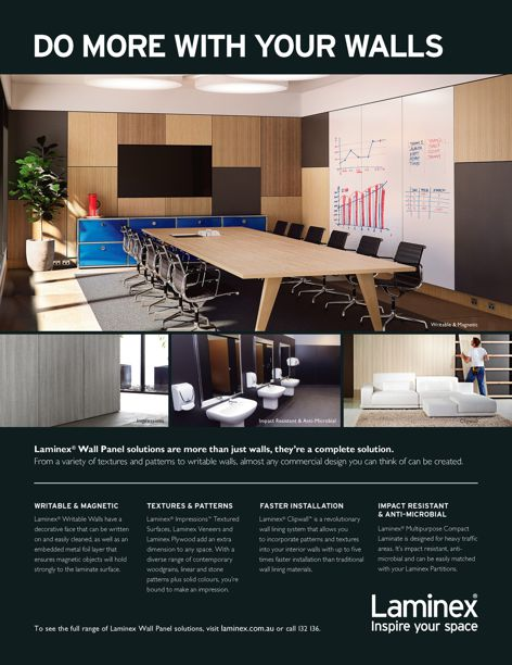 Wall Panel Solutions by Laminex