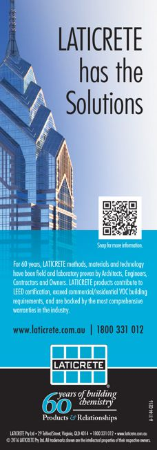 Building solutions by Laticrete