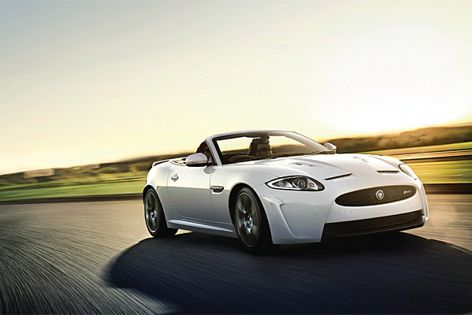 The Jaguar XKR-S is now available as a convertible.