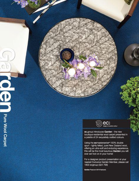 Garden carpet range by EC Group