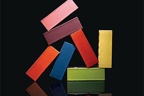 Vibrant brick collection