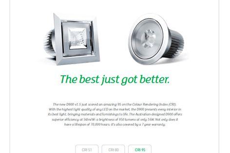D900 v1.5 LED light from Brightgreen