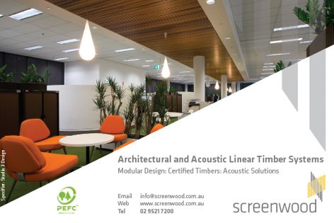 Linear timber systems from Screenwood