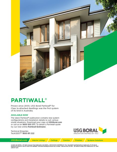 Partiwall system by USG Boral