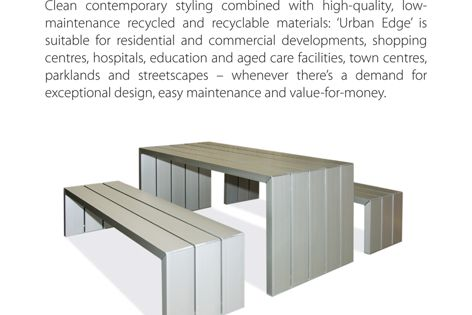Urban Edge range by Cox Urban Furniture