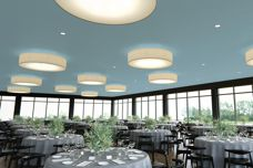 Ensemble ceiling system by USG Boral