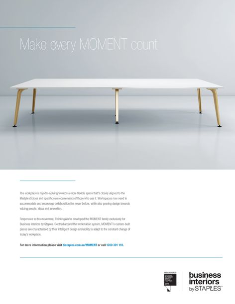 Moment from Business Interiors by Staples