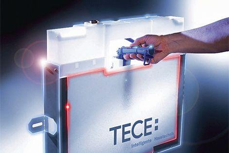 TECE concealed cistern by Gro Agencies