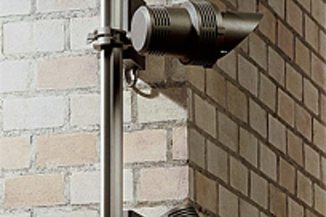 The power supply of WE-EF's Rail66 weatherproof lighting system is incorporated into the rail.