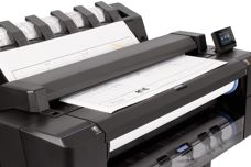 HP T2500 Designjet printer by Hewlett-Packard