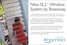 SL2 window system by Breezway