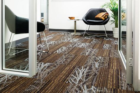 The ECmodular Wilderness Collection carpets were inspired by the natural world.