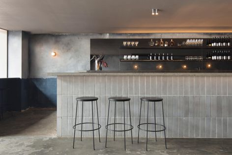 Locura by Pattern Studio, shortlisted in the Best Bar Design category. Photography: Ben Hosking.