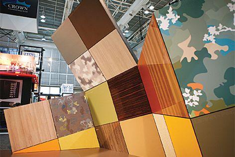 Intriguing displays at designEX 2010.