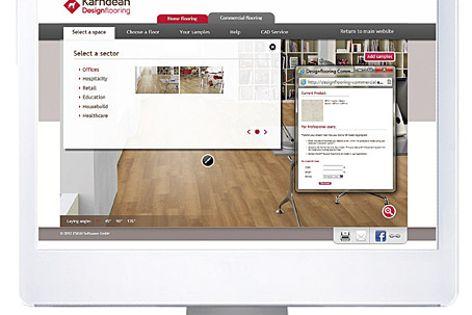 Floorstyle Interactive viewer from Karndean Designflooring