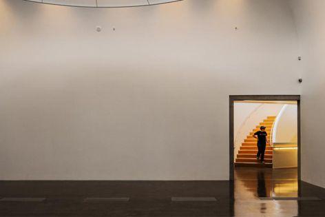 Mitchell Dodd Stout Architects' Te Uru Waitakere Contemporary Gallery. Photography: Patrick Reynolds.