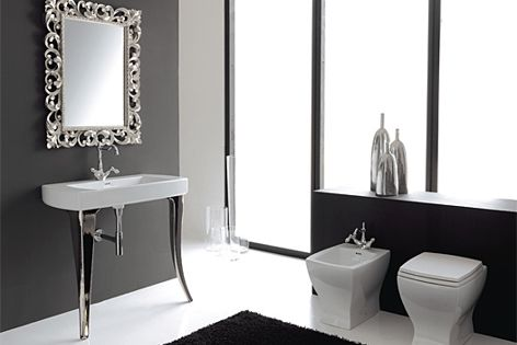 The Jazz Console 91 basin was designed by Sandro Meneghello and Marco Paolelli.