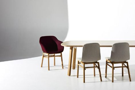 Jac chair collection from Zenith