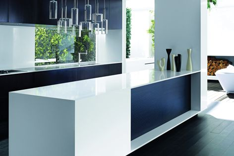 Essastone creates a lean and clean look for benchtops.