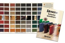 Wood stains range from Resene