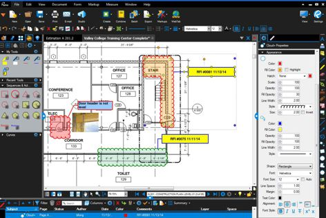 Revu program from Bluebeam Software
