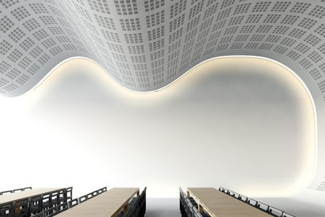 CSR Gyprock's Flexible plasterboards can be curved to a 2.2 m radius.