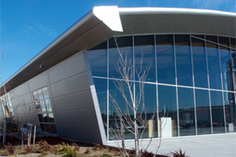 Kingspan panels were used to great effect on the new Schiavello showroom.