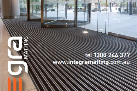 Integra entrance matting