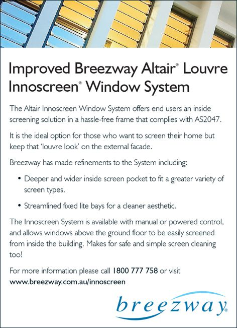 Innoscreen by Breezway Louvre Windows
