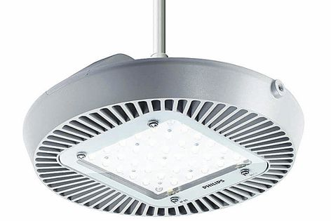 The GreenPerform LED Highbay is suitable for applications where efficiency and power are needed.