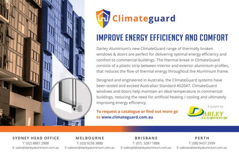 ClimateGuard windows by Darley Aluminium