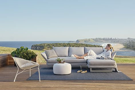 Zaza Outdoor is part of a range of integrated pieces that strikes a balance between aesthetics and functionality.