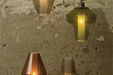 Metal Glass lights from Space Furniture