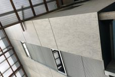 Barestone fibre cement sheets by Cemintel