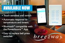 Powerlouvre Apptivate Control Unit from Breezway