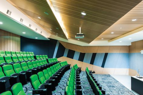 The University of Melbourne features Archipanel acoustic solutions.