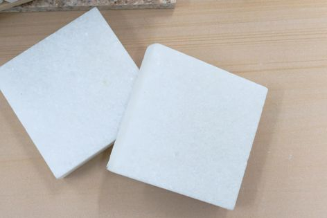 Natural marble ground coverings and swimming pool copings in the colour 'Antarctica' will be available from Sai Sandstone in late 2019.