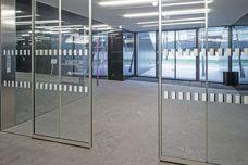 Geze Slimdrive SLNT sliding door system